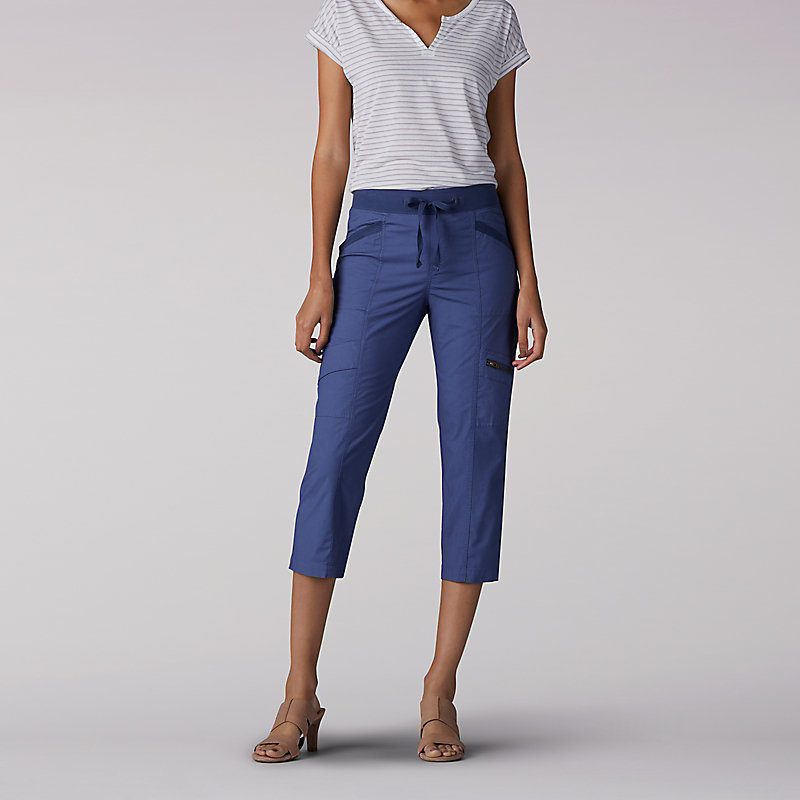 Lee Relaxed Fit Margeaux Cargo Capri