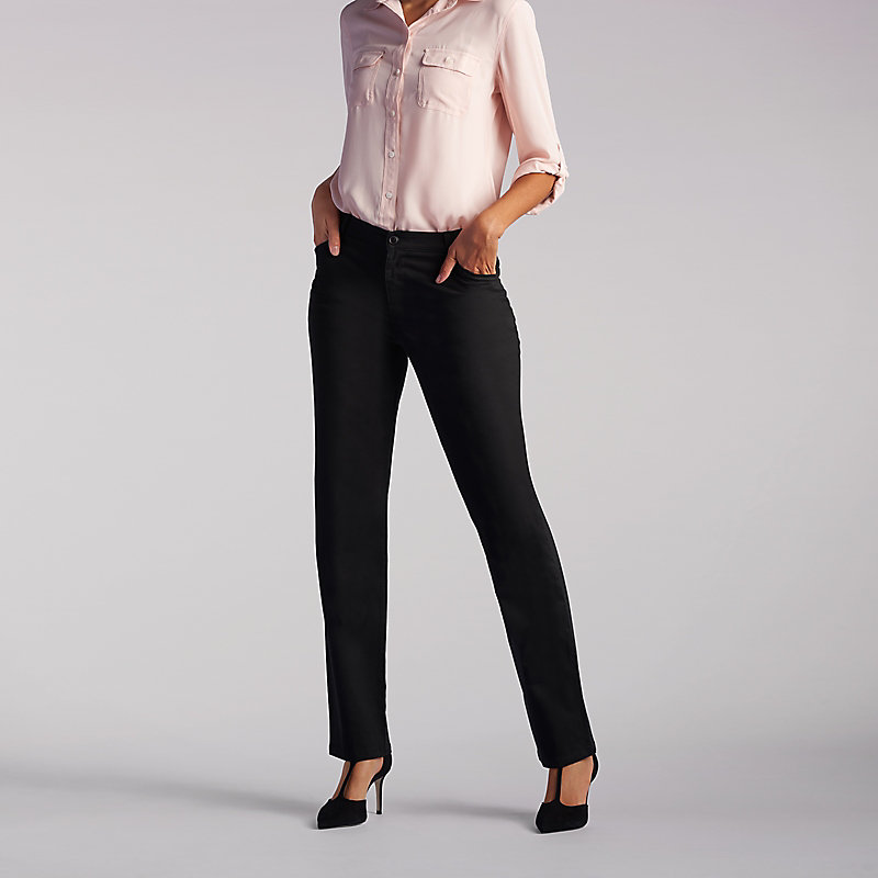 Lee Relaxed Fit Straight Leg Pant (All Day Pant) - Petite