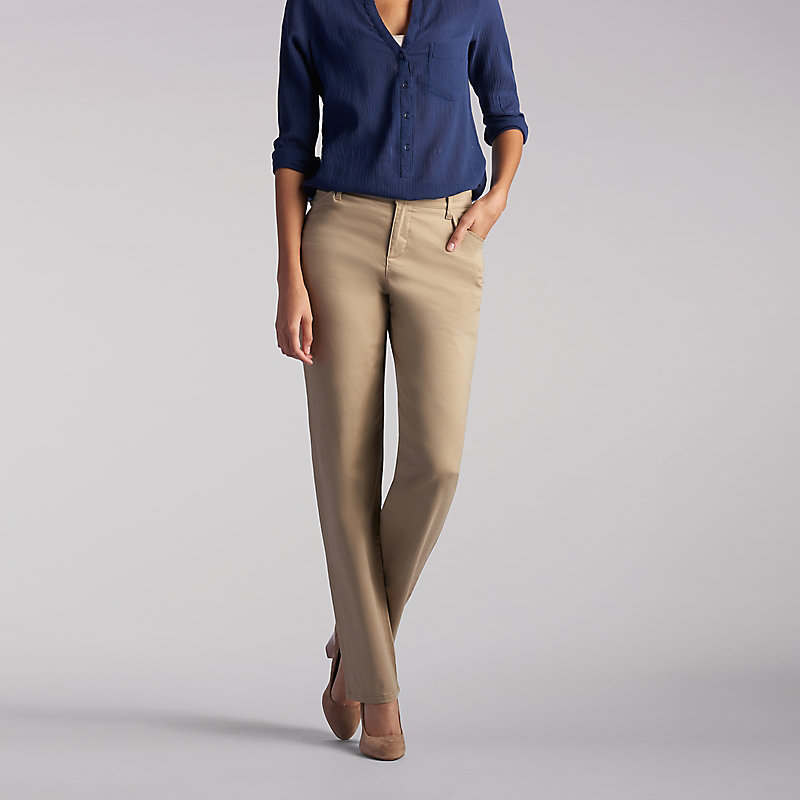 Lee Relaxed Fit Straight Leg Pant (All Day Pant) - Tall