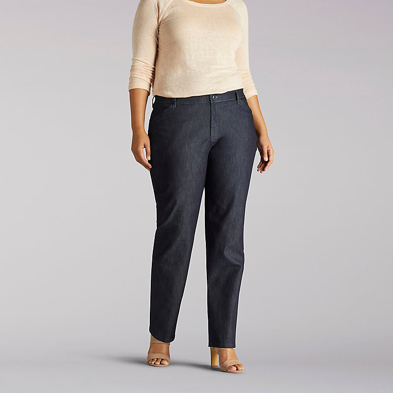 Lee Relaxed Fit Straight Leg Pant (All Day Pant) - Plus