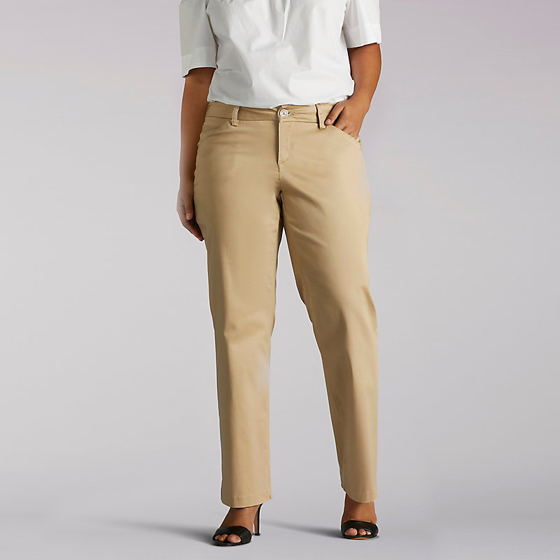 Lee Curvy Fit Maxwell Trouser - Plus