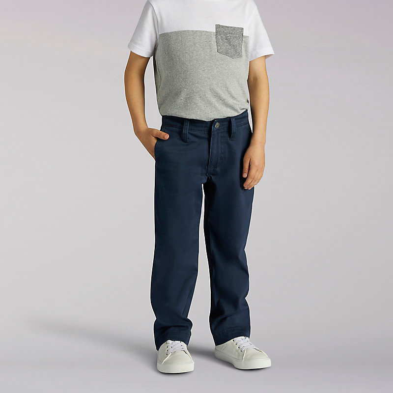 Lee X-Treme Comfort Slim Boys Chinos - 4-7