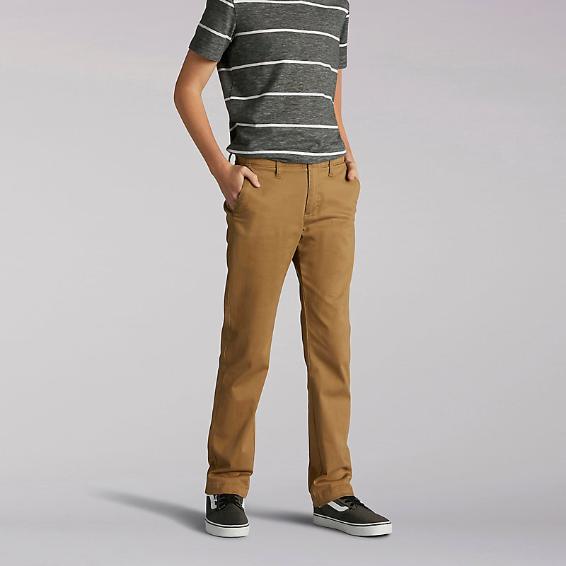 Lee X-Treme Comfort Slim Boys Chinos - Husky