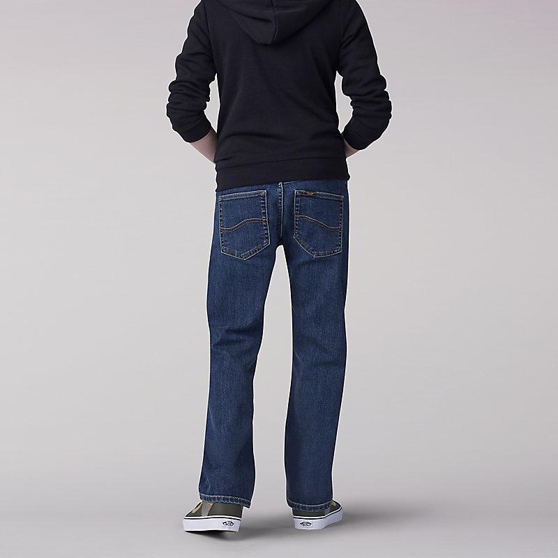 b68eb4c1 ... Lee Boy Proof Straight Fit Straight Leg Boys Jean - Husky ...