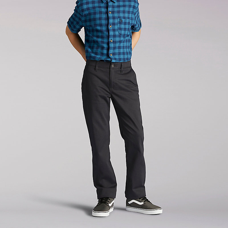 Lee X-Treme Comfort Slim Boys Chinos - 8-18
