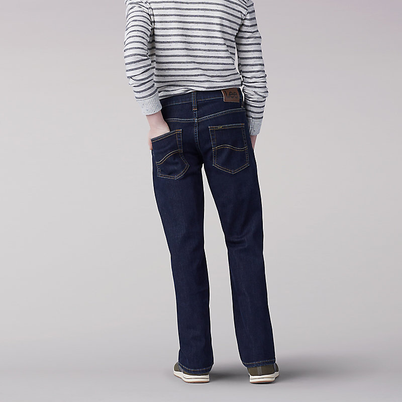 Lee Boy Proof Straight Fit Straight Leg Boys Jean - 8-18