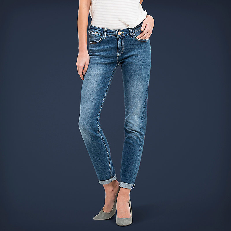 Lee European Collection  - Scarlett Selvage Skinny Ankle Jeans