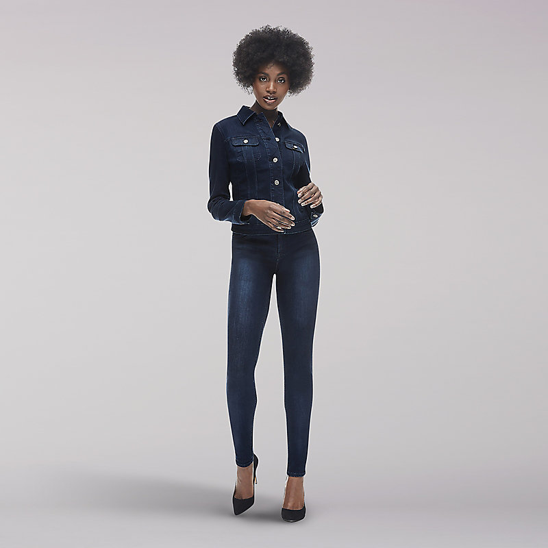 Lee Body Optix Jacket-Dark Denim